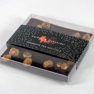 Tavoletta di Cioccolato Fondente & Nocciole