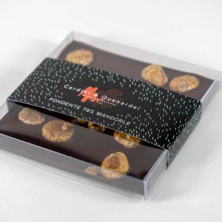 Tavoletta di Cioccolato Fondente & Mandorle