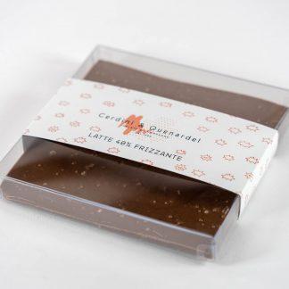 Tavoletta di Cioccolato al Latte Frizzante